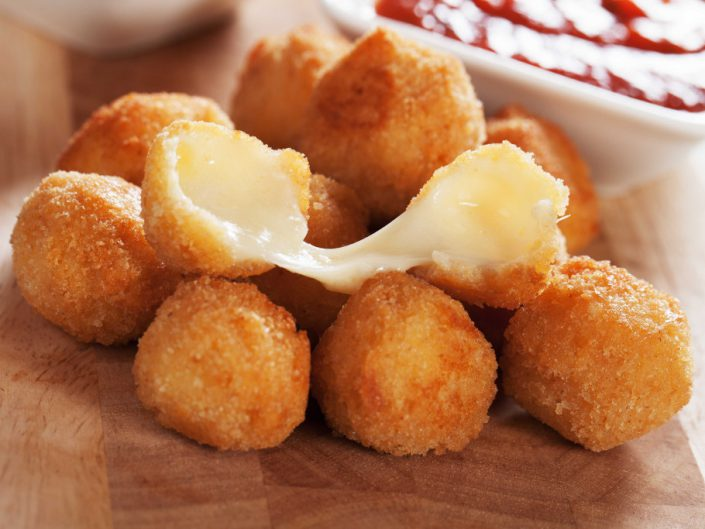 Fried Cheese Croquettes